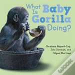 What Is Baby Gorilla Doing