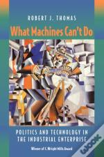 What Machines Can'T Do