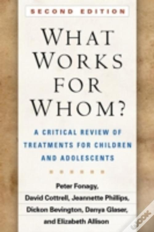 what works for whom peter fonagy pdf