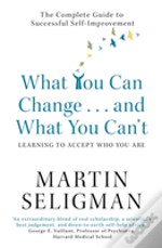 What You Can Change And What You Can'T: Learning To Accept What You Are