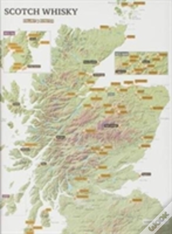 Wook.pt - Whisky Distilleries Collect And Scratch Map