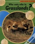 WHO EATS WHO IN GRASSLANDS