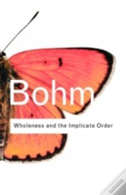 Wook.pt - Wholeness And The Implicate Order