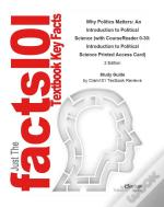 Why Politics Matters, An Introduction To Political Science With Coursereader 0-30, Introduction To Political Science Printed Access Card