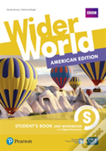 Wider World Ame 1 Student Book & Workbook With Pep Pack