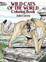 Wild Cats Of The World Colouring Book
