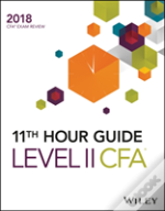 Wiley 11th Hour Guide For 2018 Level Ii Cfa Exam