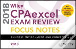 Wiley Cpaexcel Exam Review 2018 Focus Notes