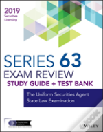Wiley Finra Series 63 Exam Review 2019