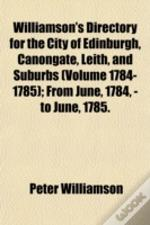 Williamson'S Directory For The City Of E