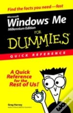 Windows Millennium For Dummies Quick Reference