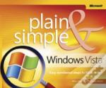 Windows Vista Plain And Simple