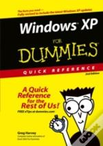 Windows Xp For Dummies Quick Reference