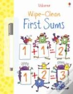 Wipe Clean: First Sums