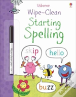 Wipe-Clean Starting Spelling