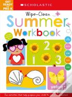 Wipe-Clean Summer Activity Book: Get Ready For Pre-K (Scholastic Early Learners)