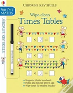 Wook.pt - Wipe-Clean Times Tables 7-8