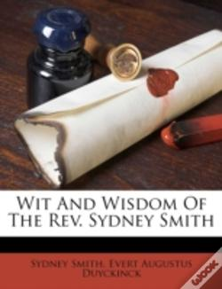 Wook.pt - Wit And Wisdom Of The Rev. Sydney Smith