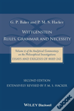 Wittgenstein: Rules, Grammar And Necessity