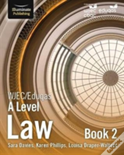 Wook.pt - Wjec Eduqas Law For A Level Book 2