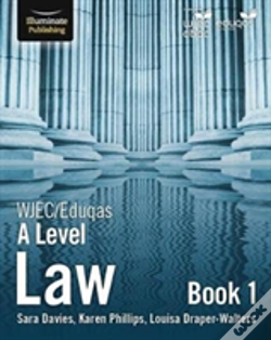 Wook.pt - Wjec/Eduqas Law For A Level: Book 1