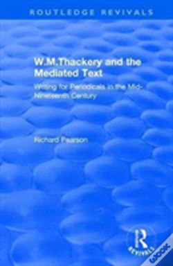 Wook.pt - W.M.Thackery And The Mediated Text