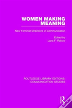 Wook.pt - Women Making Meaning Rle Communic