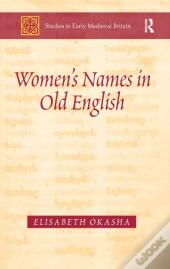 Women'S Names In Old English