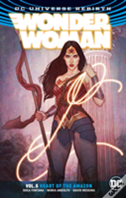 Wook.pt - Wonder Woman Vol. 5 Heart Of The Amazon (Rebirth)