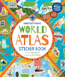 Wook.pt - World Atlas Sticker Book