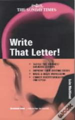 Write That Letter!