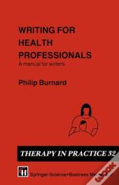 Writing For Health Professionals