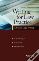 Writing For Law Practice 3rd Ed