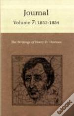 Writings Of Henry D. Thoreau1853-1854