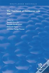 Yearbook Of Consumer Law 2007