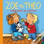 Zoe Et Theo Adoptent Un Chaton T.30
