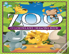 Zoo Coloring And Drawing Book
