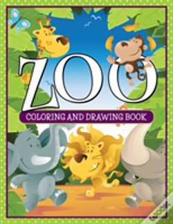 Wook.pt - Zoo Coloring And Drawing Book