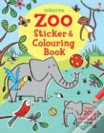 Zoo Sticker & Colouring Book